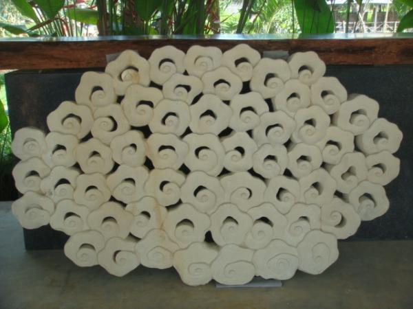 Kintamani skulptur aus terracotta for Terracotta gartendekoration