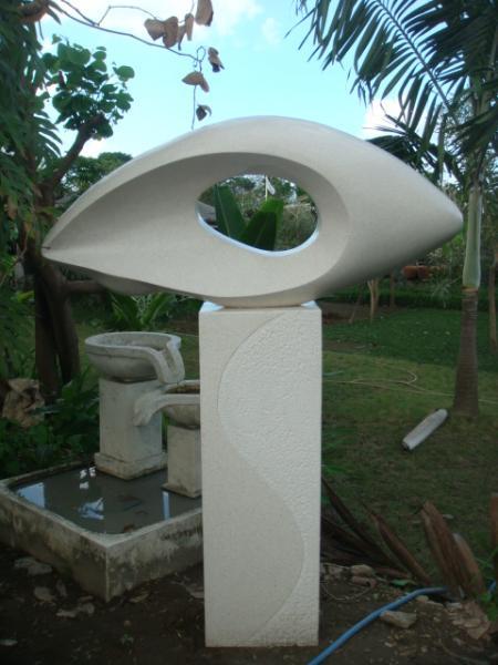 Kintamani gartendeko aus terracotta for Terracotta gartendeko